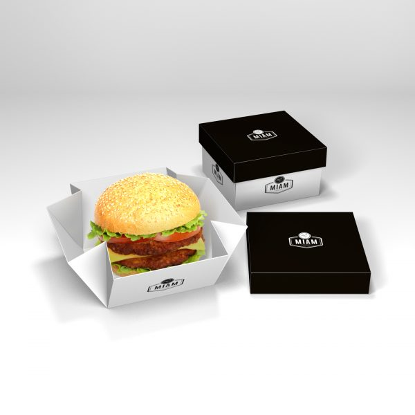 2 Piece Gourmet Burger Box