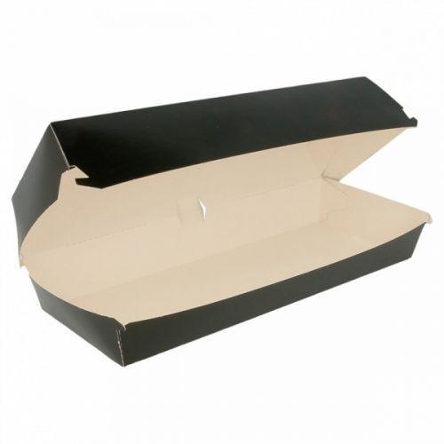 Black Hot Dog Box