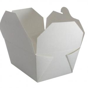 No 1 White Deli Box