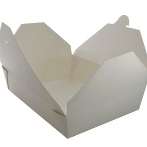 No 2 White Deli Box