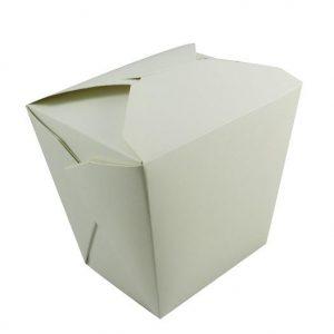 32oz White Noodle Box