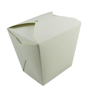 16oz White Noodle Box